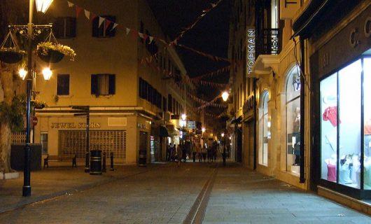 Gibraltar's Main Street